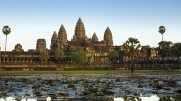 The ancient city of Angkor, Cambodia.