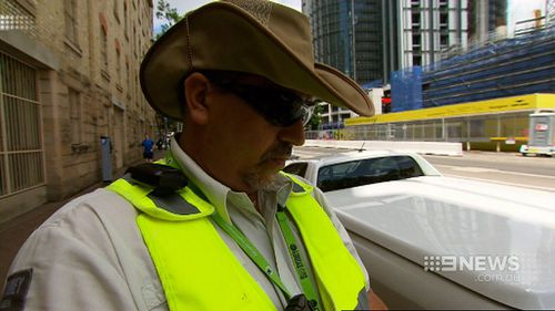 Aggressive attacks on parking officers have been a regular occurrence. (9NEWS)