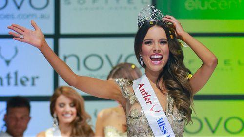 Former refugee crowned Miss Universe Australia at Melbourne finale