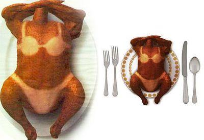 Bikini turkey