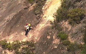 Man rescued after becoming stranded on Mt Beerwah