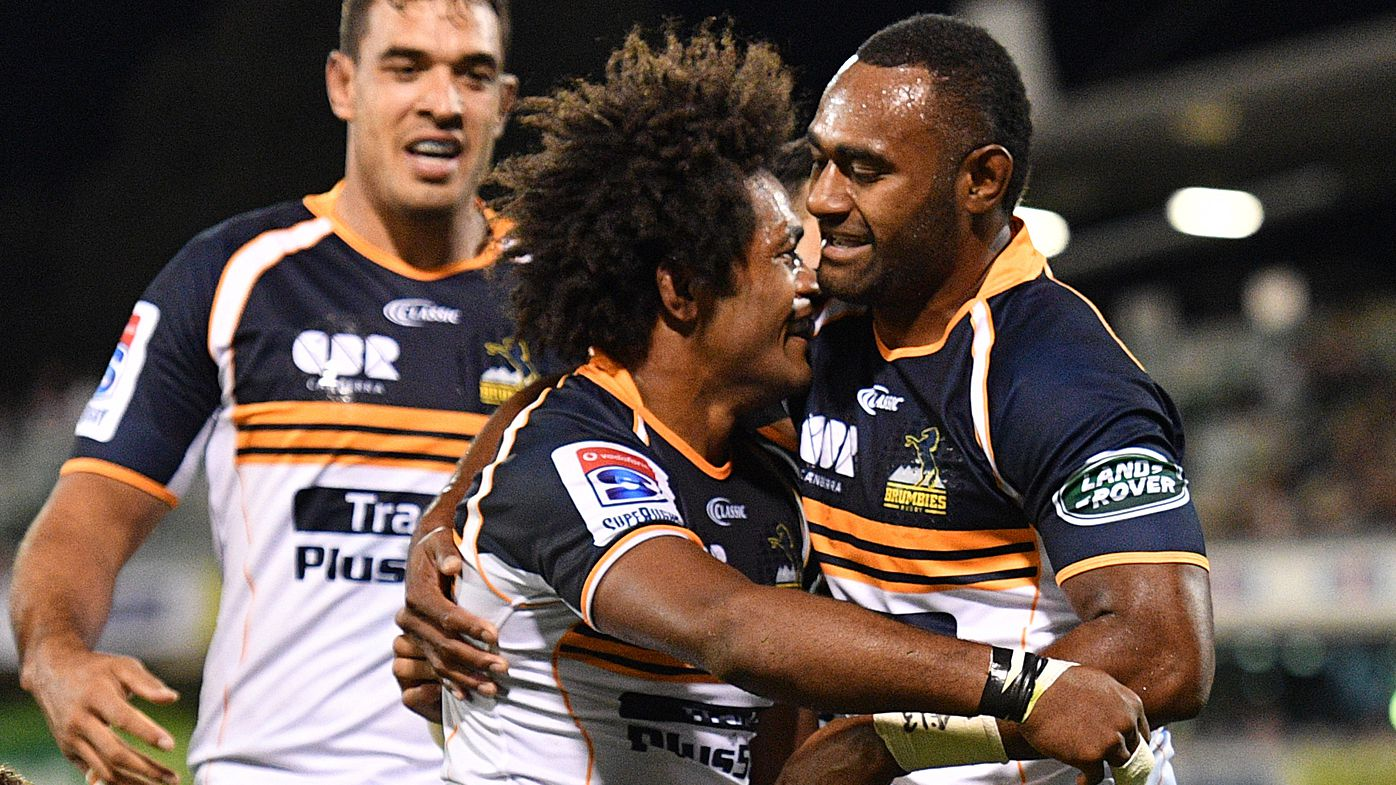 Brumbies stomp on Sharks in home Super Rugby win
