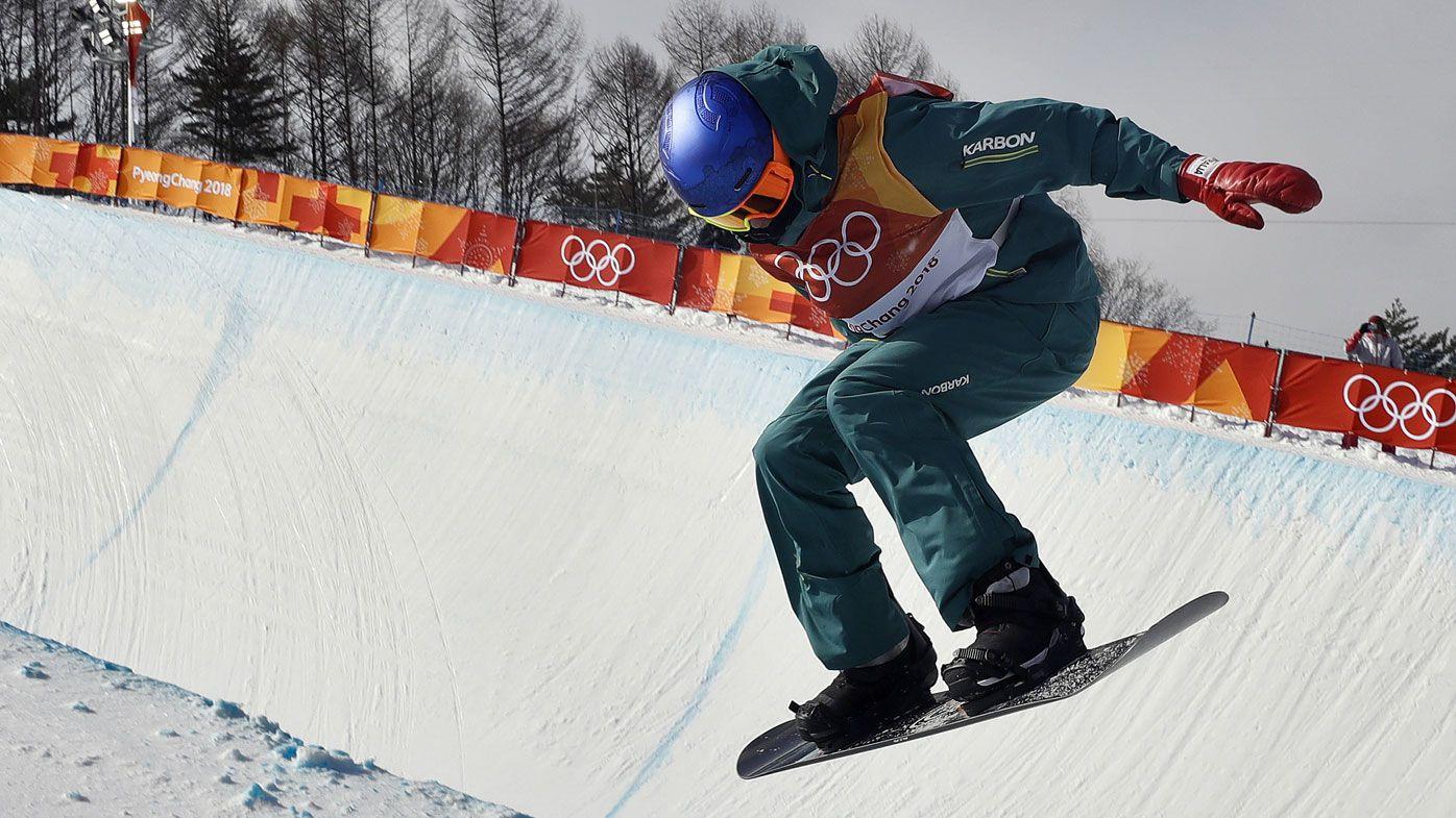 Australia's Scotty James wins bronze medal in snowboard halfpipe final at PyeongChang Winter Olympics