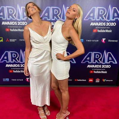 Brooke Boney and Sophie Monk