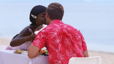 Aaron makes a shock revelation on his final date with Cynthia