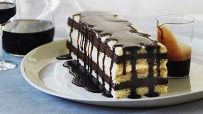 "Recipe:&nbsp;<a href=""http://kitchen.nine.com.au/2016/05/17/10/54/mocha-layer-cake"" target=""_top"">Mocha layer cake</a>"