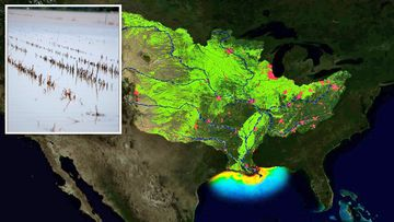 190612 Gulf of Mexico dead zones water science research USA floods weather news World