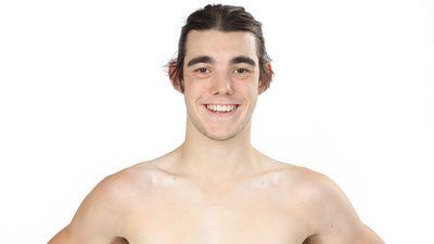 Will Kelly competing in Australian Ninja Warrior 2020.