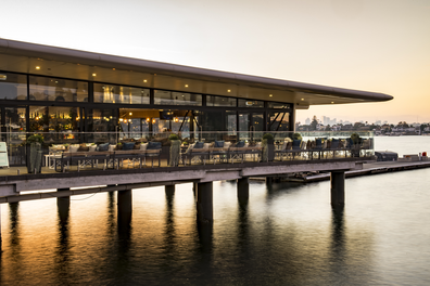 Sydney Seaplanes Rose Bay restaurant