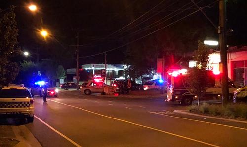 A witness said he heard at least six shots. (9NEWS)