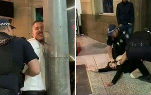 Queensland Police officers investigated over 'heavy-handed' arrest of Brisbane trio