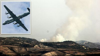 Syria accidentally shoots down Russian plane in attack
