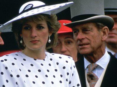 Prince Philip and Princess Diana