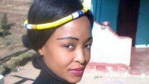 Nino Mbatha, 33, as well as another man, Lungisani Magubane, 32, have been given life sentences for murdering 25-year-old woman Zanele Hlatshwayo, and allegedly eating parts of her body