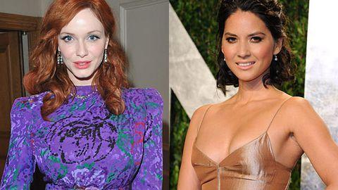 Christina Hendricks and Olivia Munn both deny nude photo leaks
