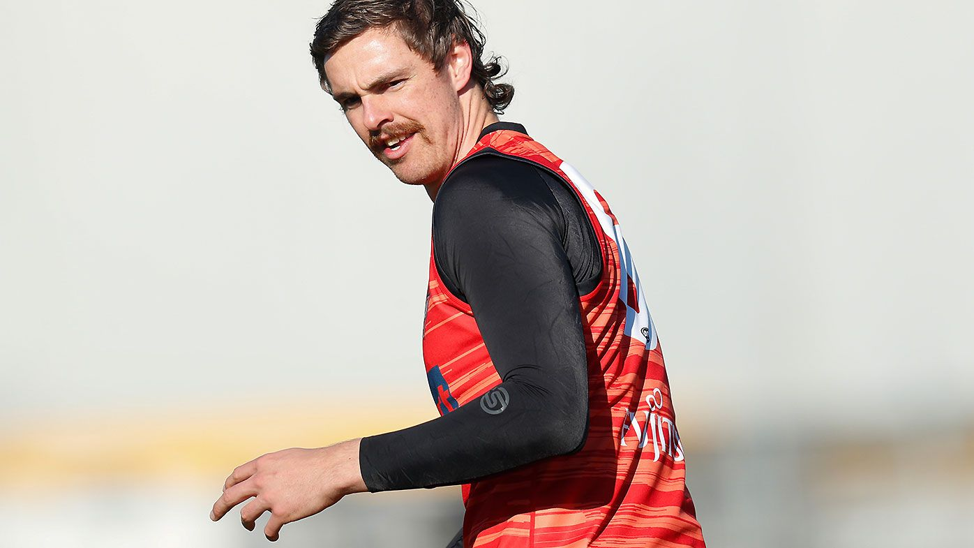 Joe Daniher's running lifts Bombers as star forward continues road back from surgery