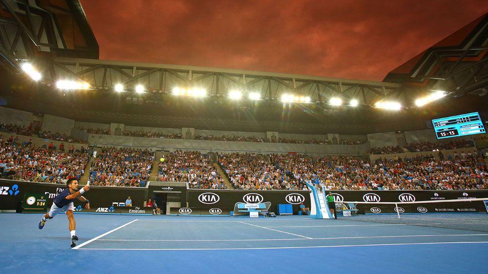 Novak Djokovic. (Getty)