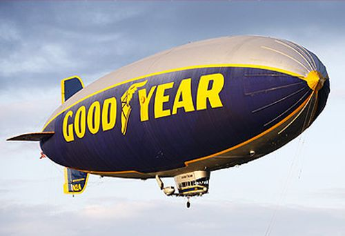 Goodyear Blimp (Getty)