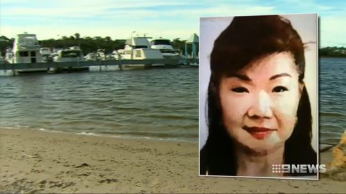 Two fishermen found a suitcase, containing the body of 58-year-old Annabelle Chen and distinctive ceramic tiles, floating on the river in East Fremantle on July 2, 2016.