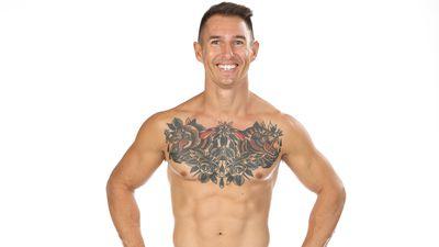 Chris White competing on Australian Ninja Warrior 2020.