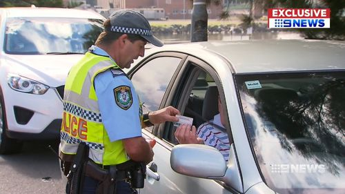 Under the change, police will be able to issue licence suspensions and on-the-spot fines, instead of court notices. (9NEWS)