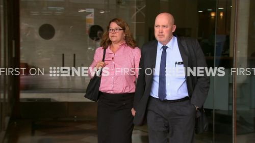 "Sarah Johnston, 50, allegedly told a colleague it would be a ""conflict of interest"" if she was breath tested. (9NEWS)"