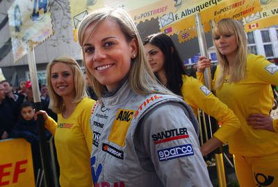 The Scot continued to race for Mercedes Benz for several years. (Getty Images)