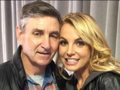 Britney Spears, Instagram, selfie, father, Jamie Spears