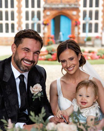 UK Love Island's Camilla Thurlow and Jamie Jewitt get married.