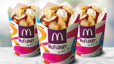 McDonald's apple pie McFlurry gets added to menu