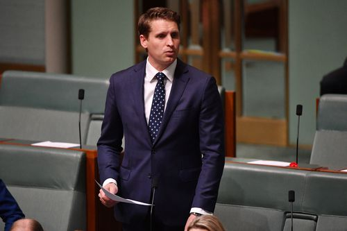 Liberal MP Andrew Hastie.