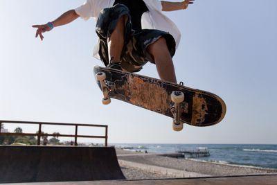 <strong>Skateboarding</strong>