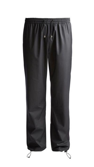"""<a href=""""http://www.rainsaustralia.com.au/collections/bags-acc/products/pants-black""""> Pants, $89.99, Rains</a>"""
