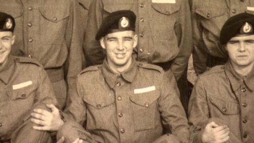 Alan served as a Royal Marine for 35 years. (Supplied)