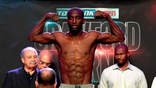 Crawford is considered the best pound for pound fighter in the world. Picture: PR handout
