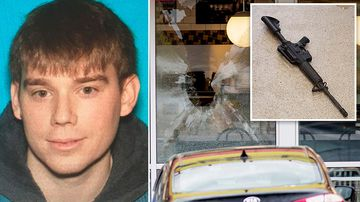 Naked restaurant gunman kills four
