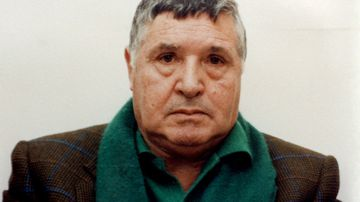 Undated portrait of Sicilian Mafia boss Salvatore 'Toto' Riina. (AAP)