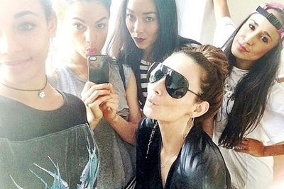 @therickilee: Just finished rehearsals with these hotties before heading out on tour with @jasonderulo #AllWeNeedIsLOVE