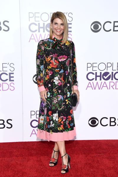 <p>Lori Loughlin was a show-stopper in head-to-toe Gucci. Those shoes! </p> <p>Image: Getty.</p>