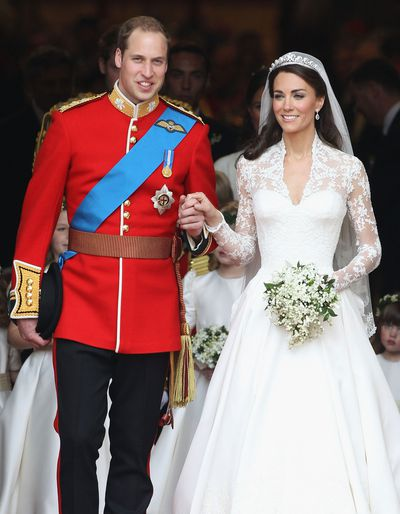 Prince William of Great Britain and Kate Middleton, April 29 2011