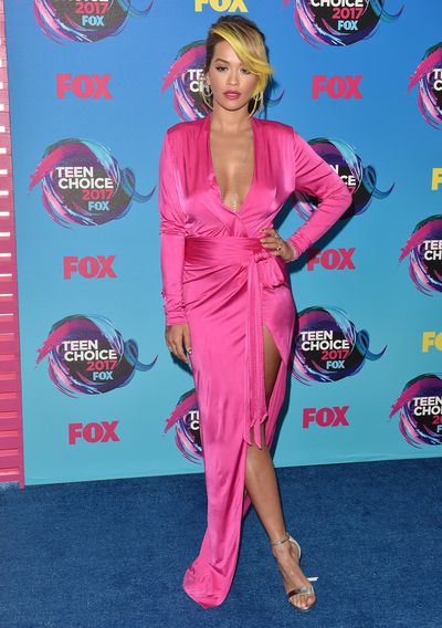 Singer Rita Ora at the Teen Choice Awards in Los Angeles, August, 2017