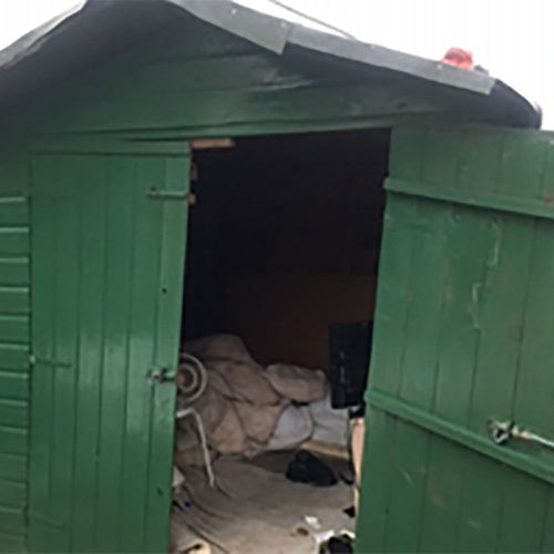 Officers say the case is the worst they've ever seen of a person being held in captivity in the UK after the man was found in a shed in Cumbria.