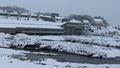 Perisher resort saw 5cm of snow fall overnight.