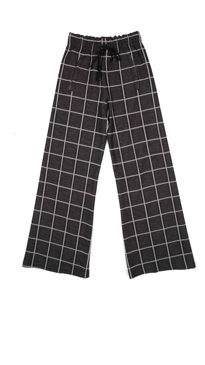 "<p><strong>Wide-leg trousers</strong></p><p><a href=""http://www.petshopgirlsshop.com/collections/pants/products/surveillance-track-pant"" target=""_blank"">Surveillance Track Pant, $350, Pageant from Pet Shop Girls</a></p>"