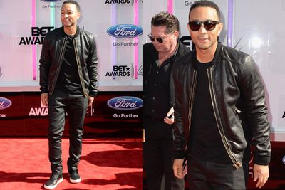 Sigh... even in a pair of red-carpet sunnies, John Legend still makes us swoon.