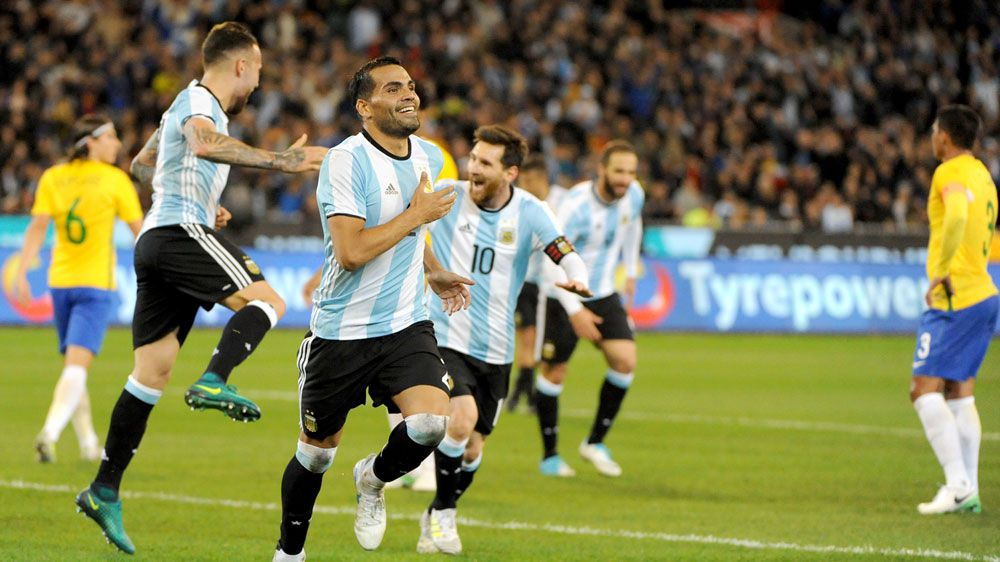 Argentina see off Brazil at packed MCG