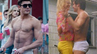 "To celebrate Zac Efron's MTV Movie Award for Best Shirtless performance in <i>That Awkward Moment</i>, TheFIX has collated our fave of the star's shirtless movie scenes. You're welcome.<br/><br/>From planking over a toilet naked and dancing in the rain in his undies, here are our top 10 of Zac Efron's hottest shirtless moments...<br/><br/>(<i>Author: <b><a target=""_blank"" href=""https://twitter.com/yazberries"">Yasmin Vought</a></b></i>)"