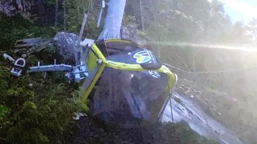 The Sea to Sky Gondola in Squamish has been deliberately vandalised for a second time