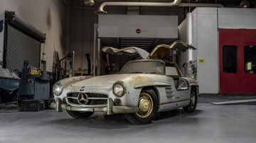 Million-dollar Merc found in barn