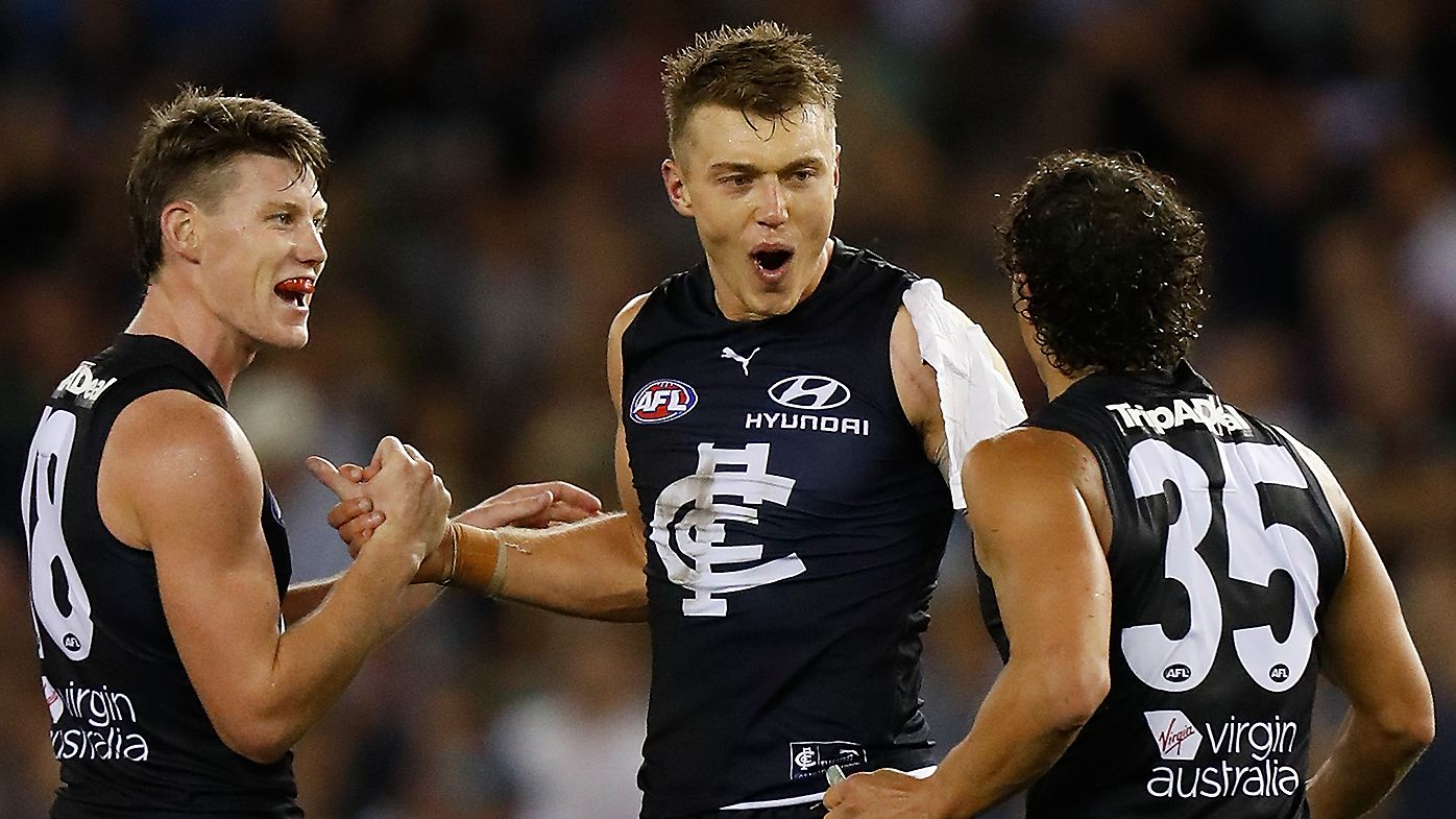 'This is a statement': Patrick Cripps silences doubters as Carlton breaks winless start to 2021